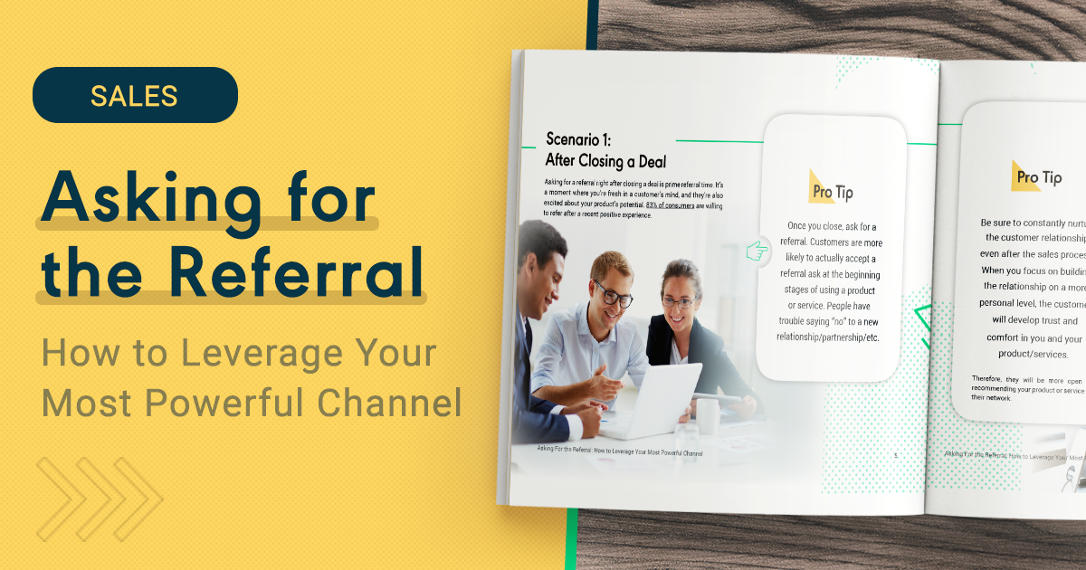 Contract Signed: How to Ask for the Referral