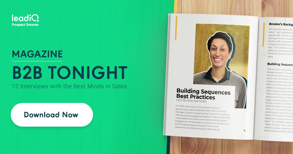 B2B Tonight: 12 Interviews with the Best Minds in Sales